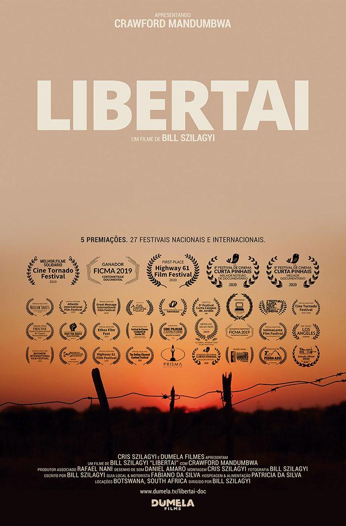 LIBERTAI poster dumela filmes - Quem Somos