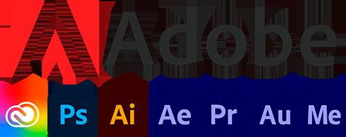 adobe logo softwares dumela filmes - Quem Somos